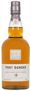 Port Dundas Scotch Single Grain 12 Year 750ml